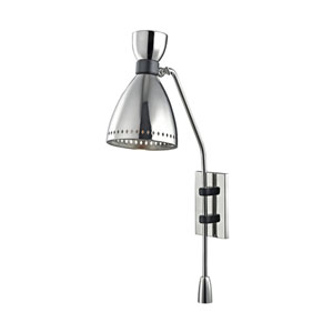 Solaris Polished Nickel 6-Inch One-Light Wall Sconce