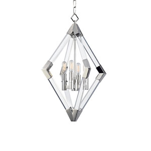 Lyons Polished Nickel Four-Light Pendant