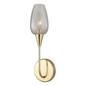Longmont Aged Brass One-Light Wall Sconce