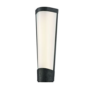 Park Slope Old Bronze 16-Inch LED Wall Sconce with White Opal Glass