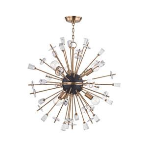 Liberty Aged Brass 32-Inch Six-Light Pendant