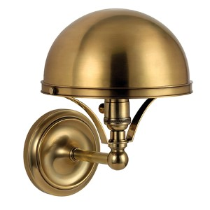 Covington Aged Brass One-Light Wall Sconce