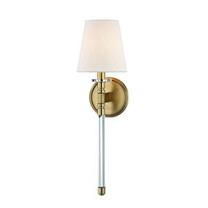 Blixen Aged Brass One-Light Wall Sconce