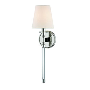 Blixen Polished Nickel One-Light Wall Sconce