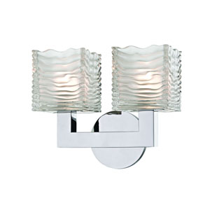 Sagamore Polished Chrome LED Bath Sconce