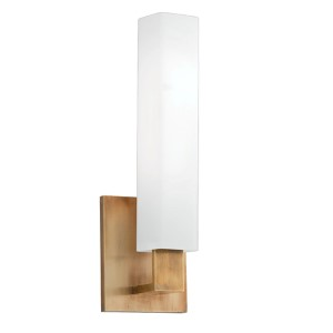 Livingston Aged Brass One-Light Sconce