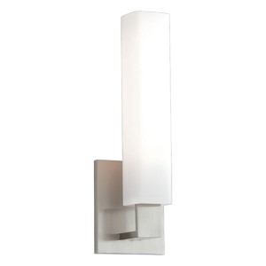 Livingston Satin Nickel One-Light Sconce