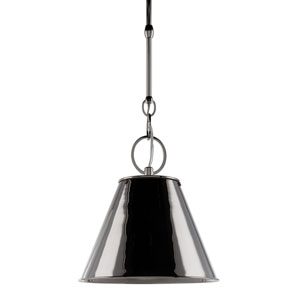 Altamont 11-Inch Polished Nickel Pendant