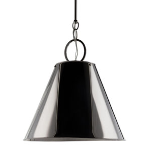 Altamont 15-Inch Polished Nickel Pendant