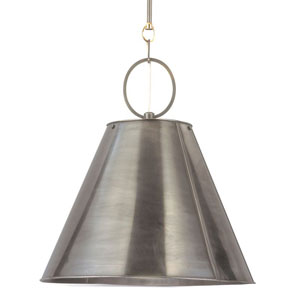 Altamont Historic Nickel 19-Inch One-Light Pendant