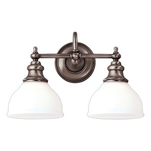 Sutton Two-Light Bath Fixture