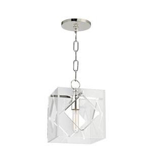 Travis Polished Nickel One-Light Pendant