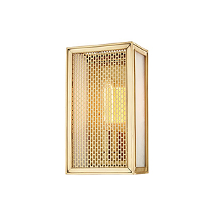 Ashford Aged Brass 1-Light 5.75-Inch Wall Sconce