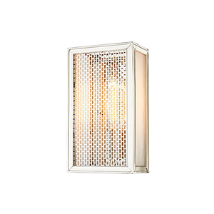 Ashford Polished Nickel 1-Light 5.75-Inch Wall Sconce
