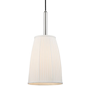 Malden Polished Nickel One-Light Pendant
