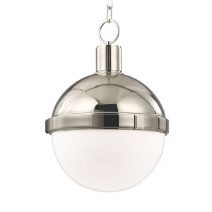 Lambert Polished Nickel Mini Pendant
