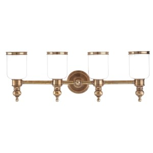 Chatham Polished Nickel Four-Light Bath Fixture
