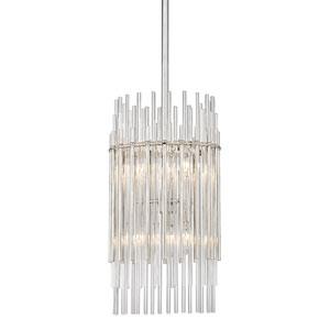 Wallis Polished Nickel Six-Light Pendant