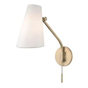 Patten Aged Brass One-Light Wall Sconce
