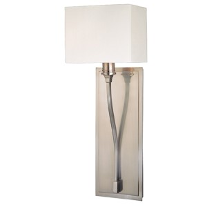 Selkirk Satin Nickel One-Light Sconce