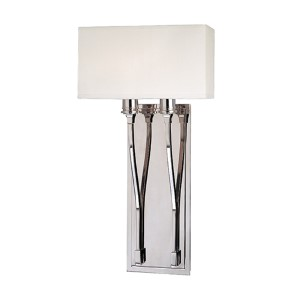 Selkirk Polished Nickel Two-Light Sconce