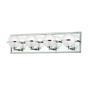Axiom Polished Nickel LED Bath Vanity