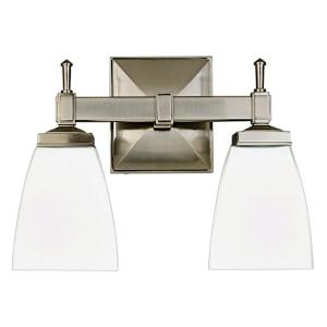 Kent Polished Chrome Two-Light Bath Light