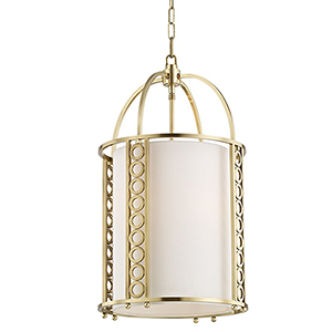 Infinity Aged Brass 4-Light 14-Inch Pendant