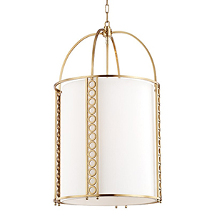 Infinity Aged Brass 8-Light 20-Inch Pendant
