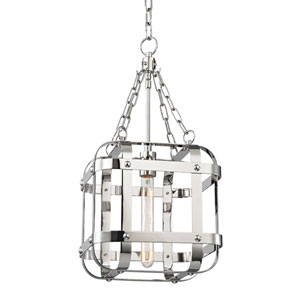 Colchester Polished Nickel One-Light Pendant