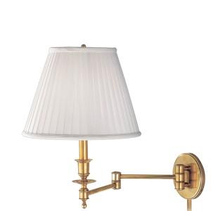 Ludlow Aged Brass Swing Arm Lamp