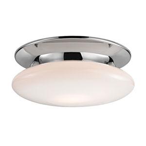 Irvington Polished Chrome Fifteen-Inch LED Flushmount