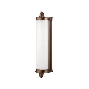 Nichols Brushed Bronze LED Eight-Light Bath Light Fixture - Brushed Bronze Finish