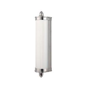 Nichols Polished Nickel LED Eight-Light Bath Light Fixture