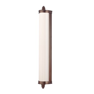 Nichols Brushed Bronze LED 14-Light Bath Light Fixture - Brushed Bronze Finish