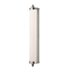 Nichols Polished Nickel LED 14-Light Bath Light Fixture