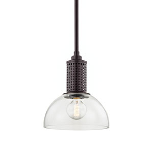 Halcyon Old Bronze 10-Inch One-Light Pendant