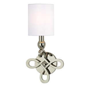 Pawling Polished Nickel One-Light Wall Sconce