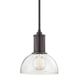 Halcyon Old Bronze 14-Inch One-Light Pendant