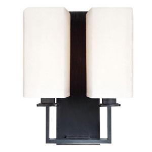 Baldwin Polished Nickel Two-Light Wall Sconce