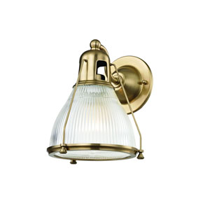 Haverhill Aged Brass One-Light Wall Sconce
