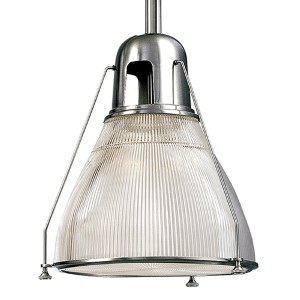 Haverhill Small Polished Nickel Mini Pendant
