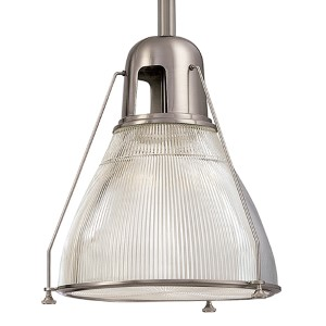 Haverhill Small satin Nickel Mini Pendant