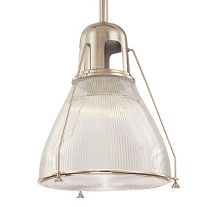 Haverhill Large Polished Nickel Mini Pendant