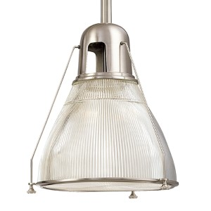 Haverhill Large Satin Nickel Mini Pendant