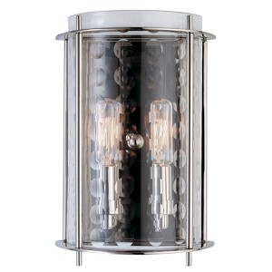 Espous Polished Nickel Two-Light Wall Sconce