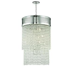 Harrison Polished Nickel 12-Light Pendant