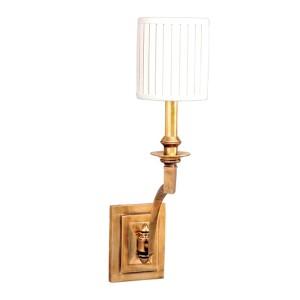 Mercer Aged Brass One-Light Wall Sconce