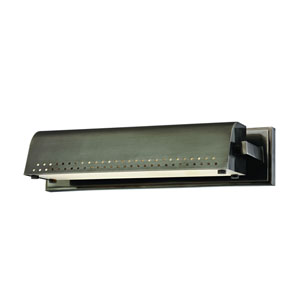 Garfield Historic Nickel 15-Inch LED Picture Light