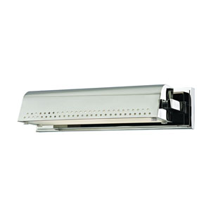 Garfield Polished Nickel 15-Inch LED Picture Light